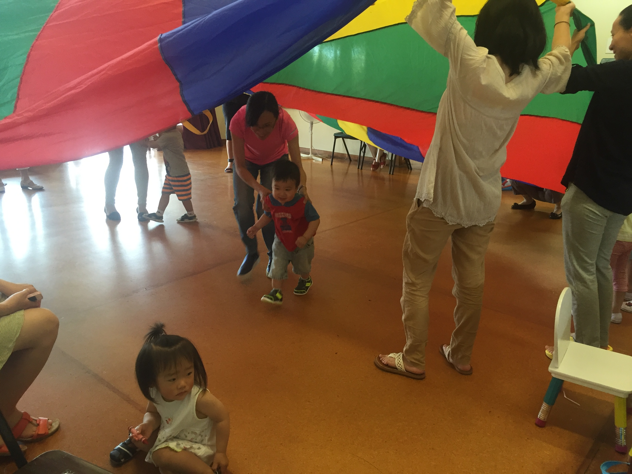 Fun activities at Oak Tree