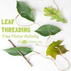Leaf Threading-The Mud Kitchen