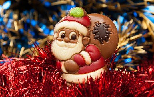 No Santa chocolate or candy canes
