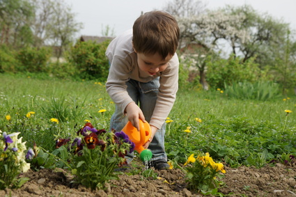 Encouraging children to be independent and to persevere helps develop self-control