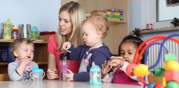 starting preschool or child care
