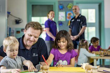 male early childhood educators