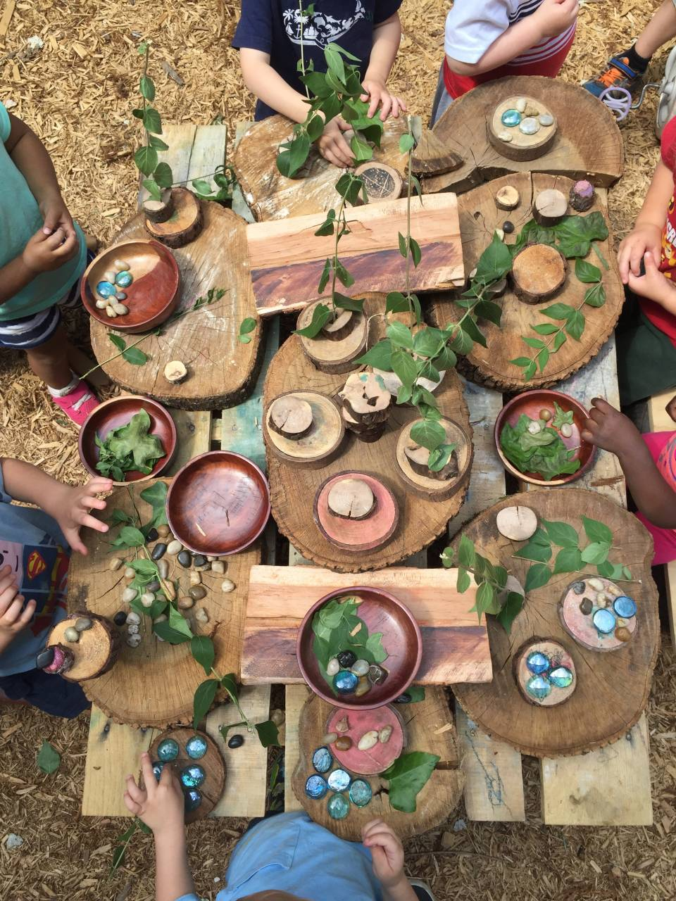 Picture Source;Willow School: Provocations on the Playground